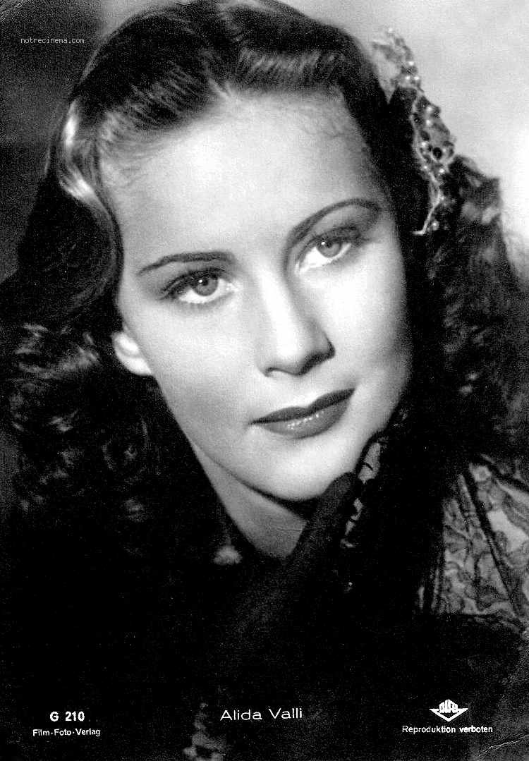 Alida Valli Photos News Filmography Quotes And Facts