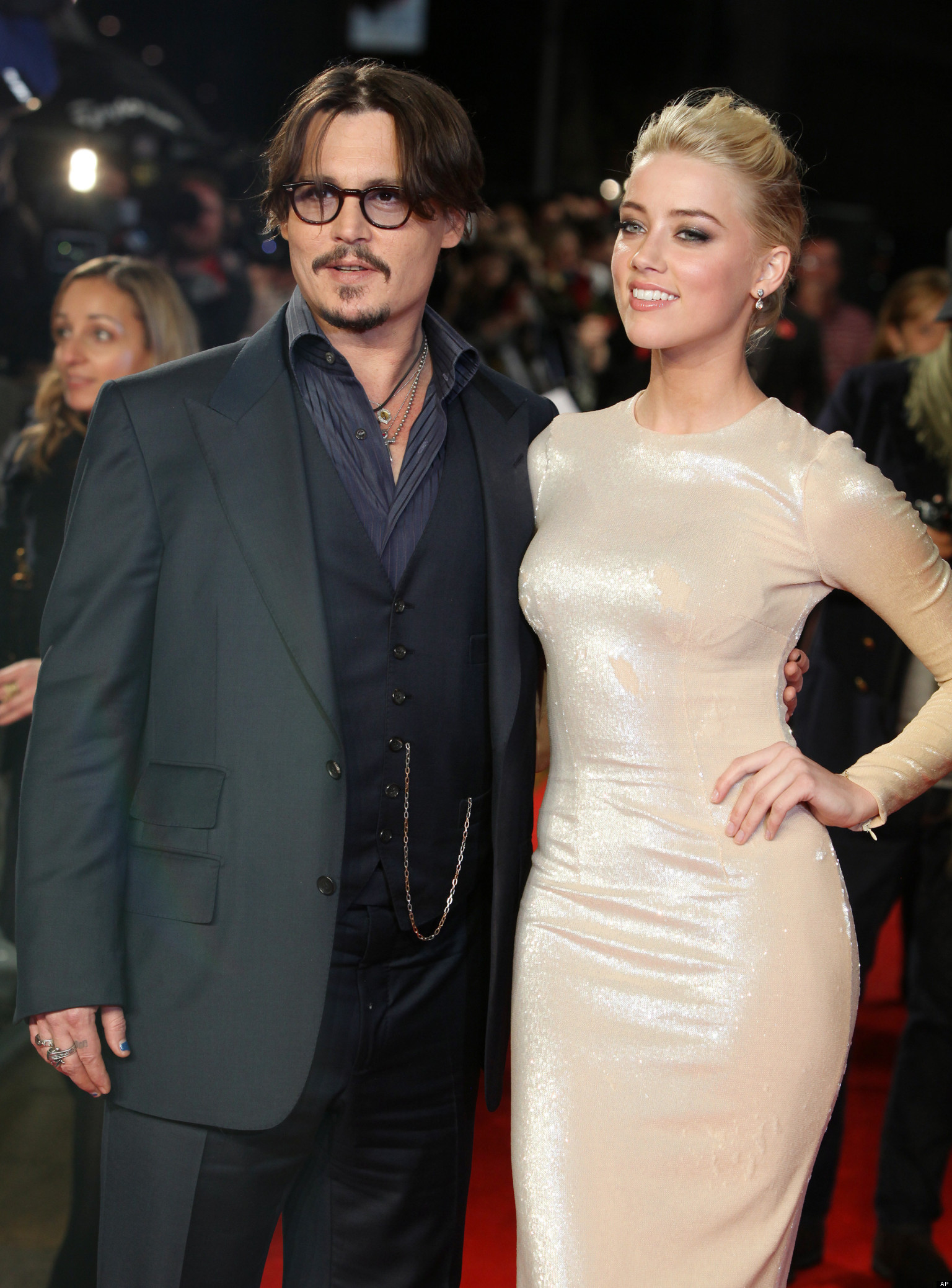 Amber Heard and husband Johnny Depp's marriage going the wrong way