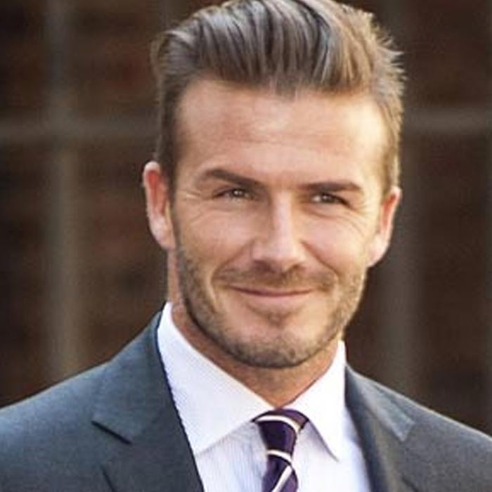 David Beckham (born 2 May ) is an English retired association football player. The teams he played for were Manchester United, Real Madrid, Los Angeles Galaxy, Preston North End, AC Milan, Paris Saint-Germain, and the England national team.