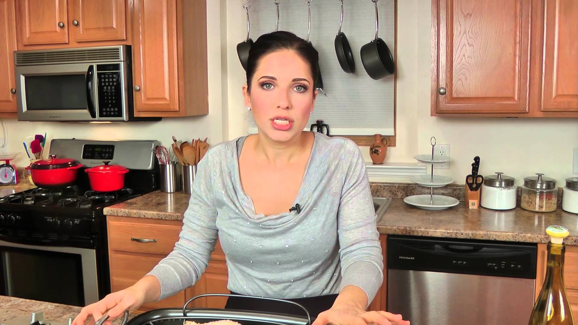 laura vitale in the kitchen
