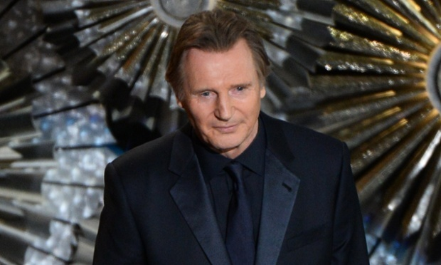LIAM NEESON IN BLACK
