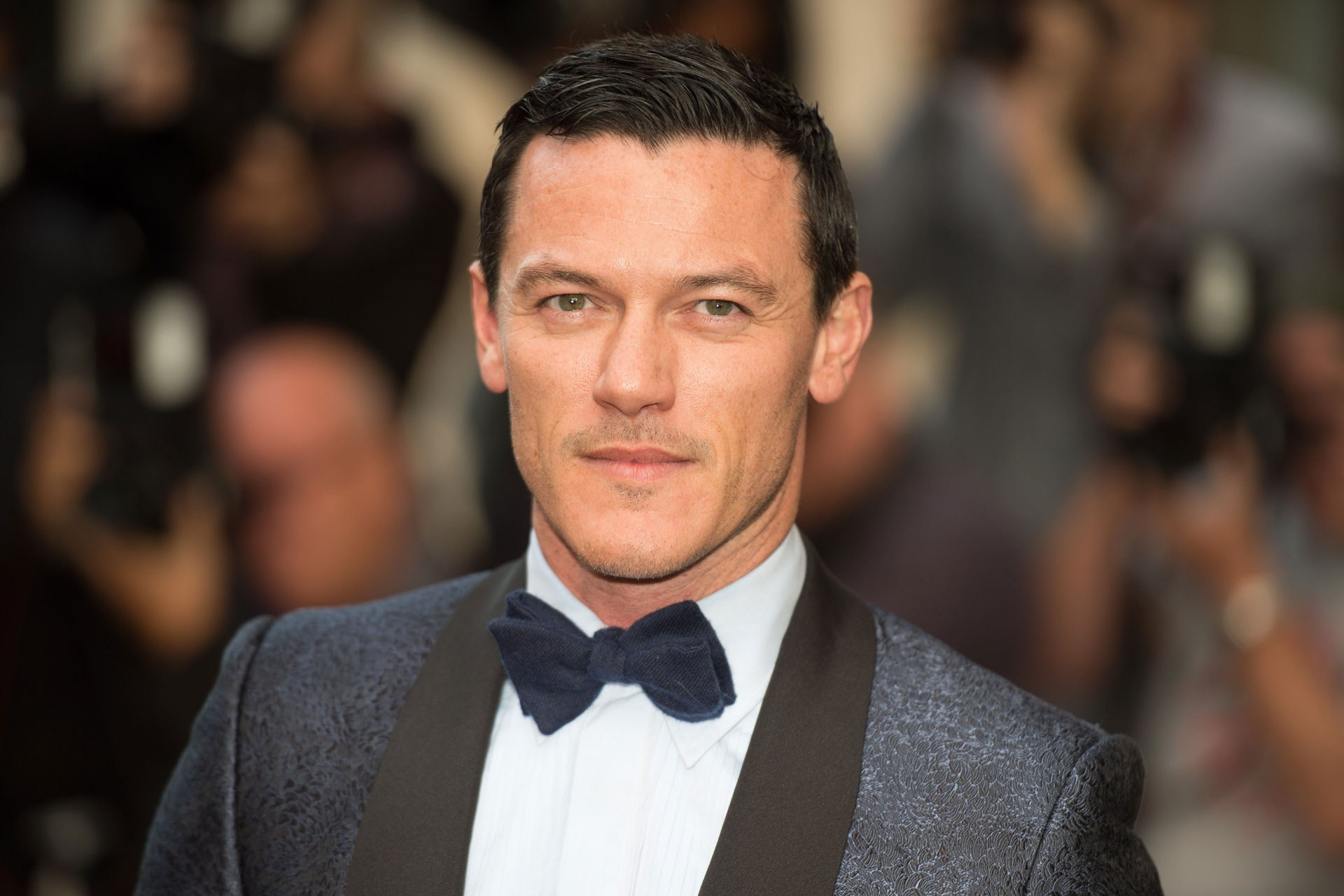 Luke Evans will play the arrogant hunter Gaston