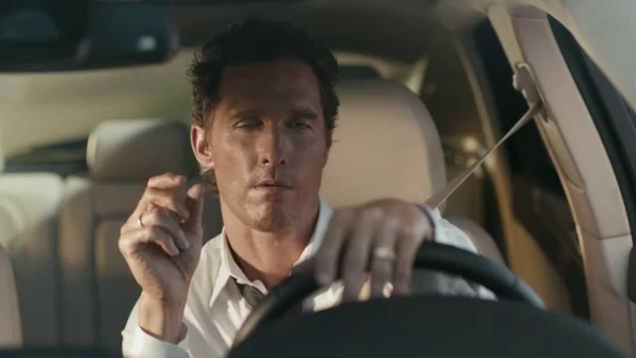 Matthew McConaughey has not caught his Lincoln Commercial by Jim Carrey until Now
