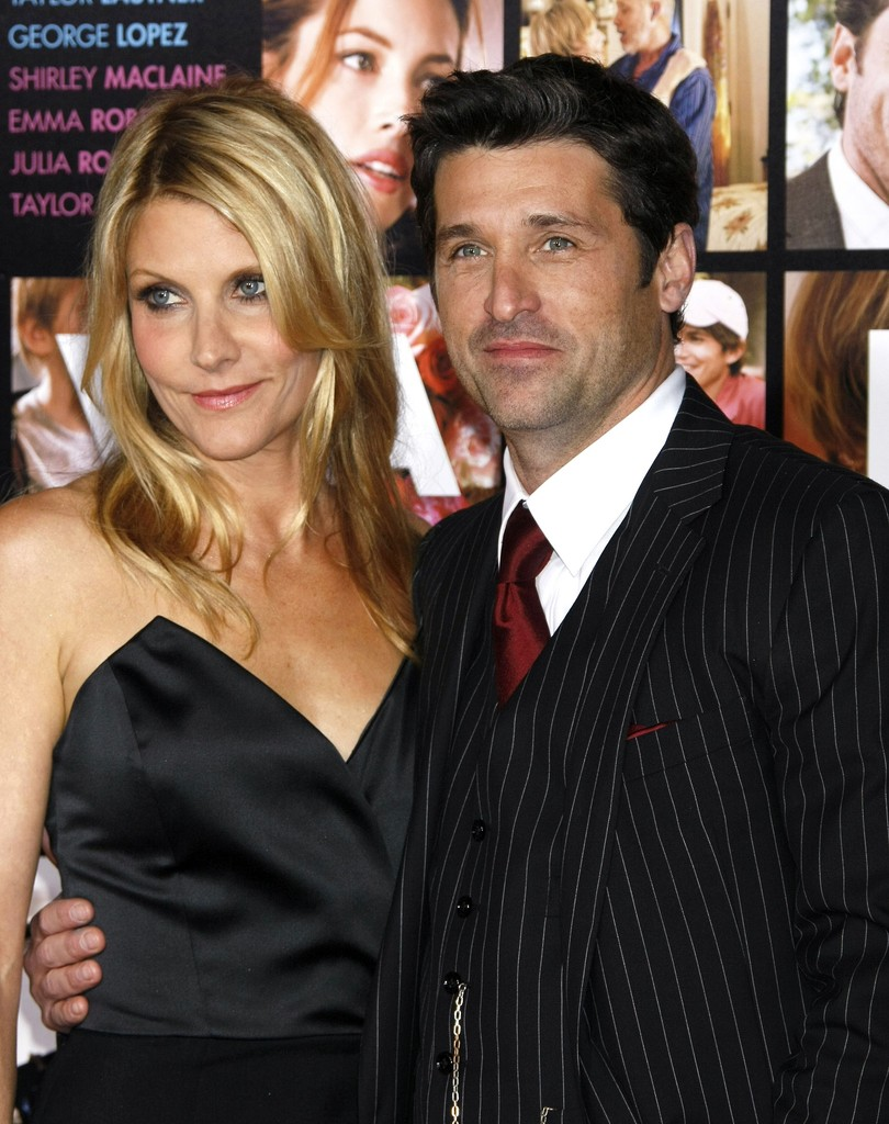 Pictures Of Patrick Dempsey Wife Rocky Parker Rock Cafe