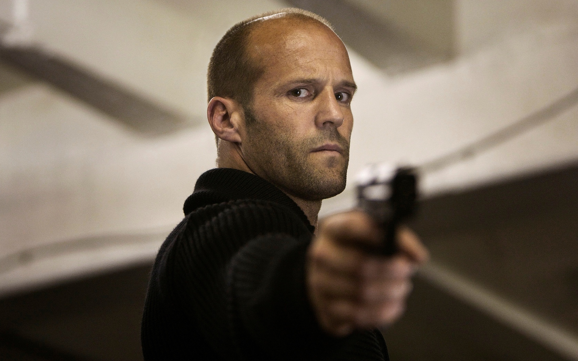 Tough guy Jason Statham putty in the hands of Melissa McCarthy