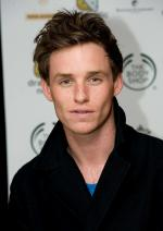 Eddie Redmayne at the JFK with wife Hannah