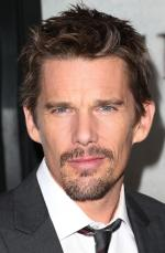 Ethan Hawke is all smiles after losing his Boyhood Oscar