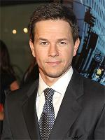 Mark Wahlberg's left elbow wrapped up