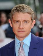 Martin Freeman trying to convince voters to go for 'Labour'' for the latest political broadcast