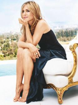 Jennifer Aniston's blast from the past