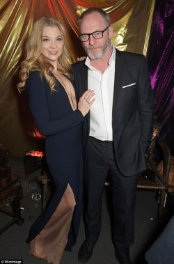 Natalie Dormer turns out to be a complete stunner at premiere after party