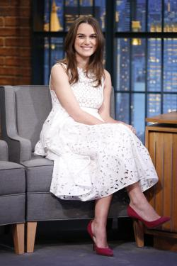 Pregnant Keira Knightley States that she is not quite prepared for a Baby