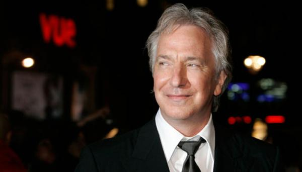 Alan Rickman married in secret to his partner of 50 years