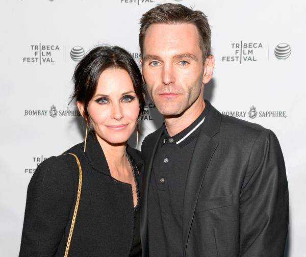 Courteney Cox with a flashing engagement ring and romantic hike with fiancé Johnny McDaid