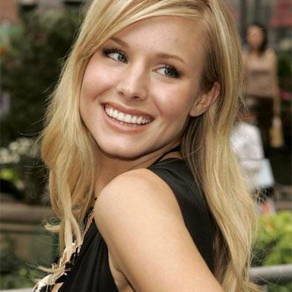 Kristen Bell sharing her beauty secrets